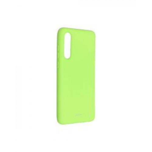 Гръб Roar Colorful Jelly -  Huawei P30 Lime