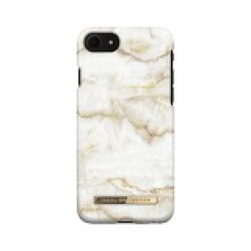 Гръб iDeal of Sweden - Apple iPhone SE Golden Pearl Marble