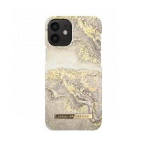 Гръб iDeal of Sweden - Apple iPhone 12 Sparkle Greige Marble