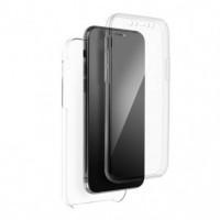 360 Full Cover case PC + TPU - Samsung Galaxy S21+ Transperant