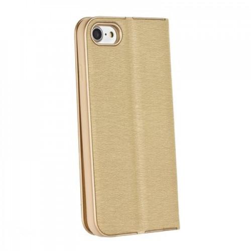 Калъф Luna Book - Samsung Galaxy A51 5G Gold