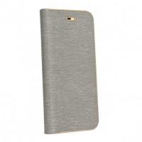 Калъф Luna Book - Samsung Galaxy S21 сребрист