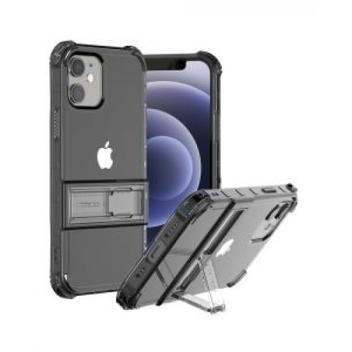 Гръб ARAREE Mach Stand  - Apple iPhone 12 mini Black