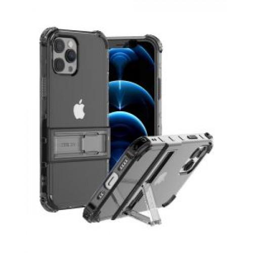 Гръб ARAREE Mach Stand  - Apple iPhone 12 Pro Max Black