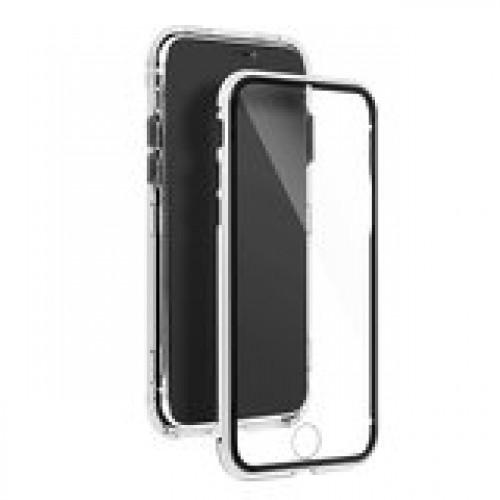 Калъф Magneto Case - Apple iPhone 12 сребрист