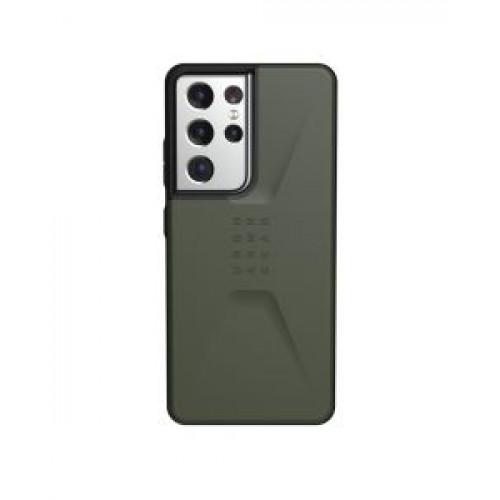 Гръб Urban Armor Gear Civilian - Samsung Galaxy S21 Ultra Olive