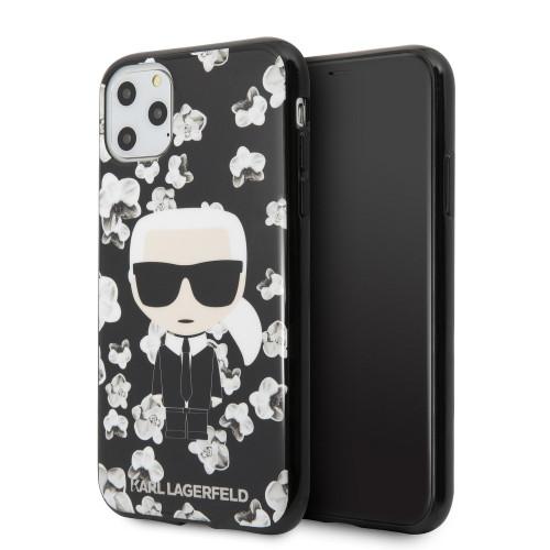 Оригинален Гръб KARL LAGERFELD - Apple iPhone 11 Pro - Karl's Orchids