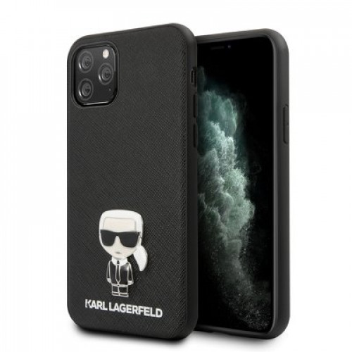 Оригинален Гръб KARL LAGERFELD - Apple iPhone 11 Pro - Mini Karl 3D