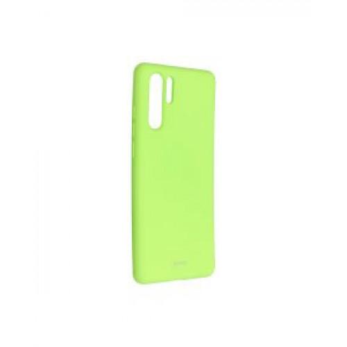 Гръб Roar Colorful Jelly - Huawei P30 Pro Lime