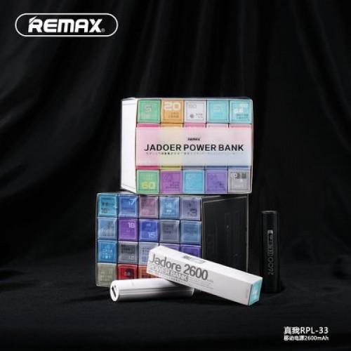 Power Bank 2600mAh REMAX Revolution RPL-33