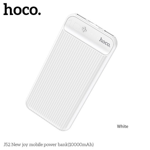 Преносима батерия HOCO 10 000mAh J52 - Huawei Honor 8S 2020 бял
