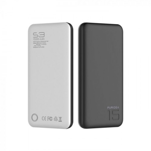 Външна батерия Puridea S3 15 000 mAh - Motorola Edge+ Black