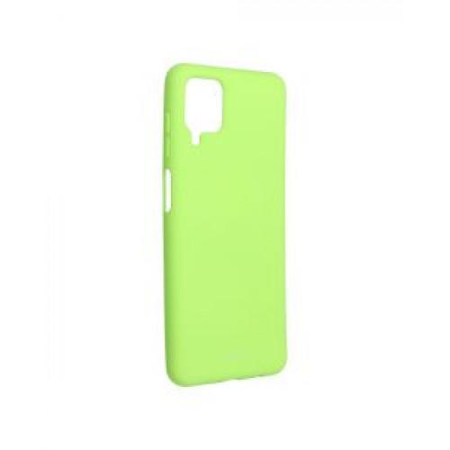 Гръб Roar Colorful Jelly - Samsung Galaxy A12 Lime