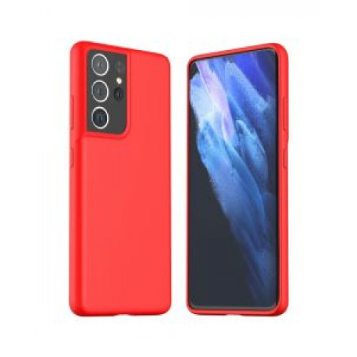 Гръб ARAREE Typoskin - Samsung Galaxy S21 Ultra Red