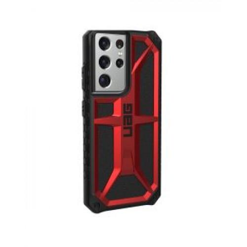 Гръб Urban Armor Gear Monarch - Samsung Galaxy S21 Ultra Red