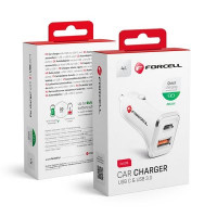 Зарядно за кола Forcell Quick Charging + PD 18W 2xUSB - Nokia 5.3