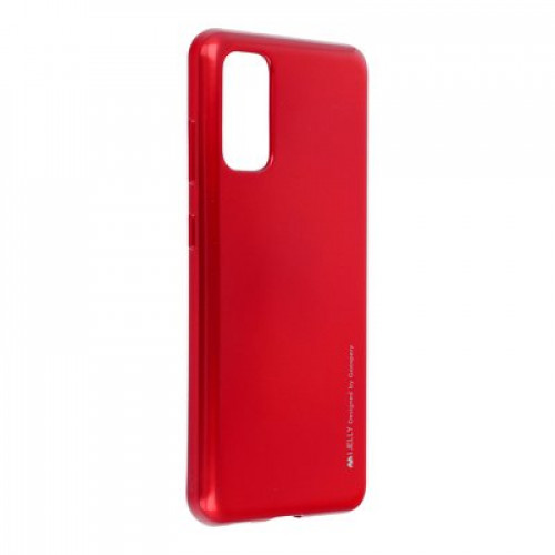 Гръб i-Jelly Case - Samsung Galaxy S20 червен