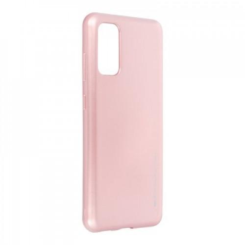 Гръб i-Jelly Case - Samsung Galaxy S20 Ultra розово злато