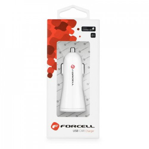 Зарядно за кола Forcell USB socket 2,4A with Quick Charge 3.0 function - Motorola Moto X4