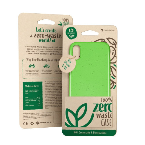 Гръб Forcell BIO Zero Waste Case - Huawei P Smart зелен