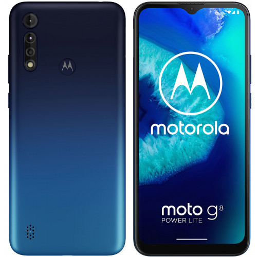 Motorola Moto G8 Power Lite 64GB 4GB RAM Dual Blue