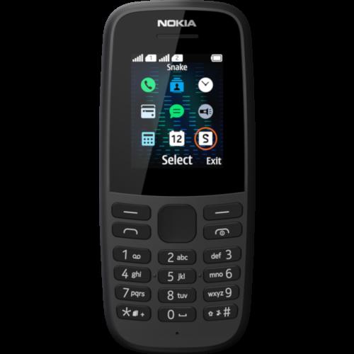 Nokia 105 Dual 2019 Black