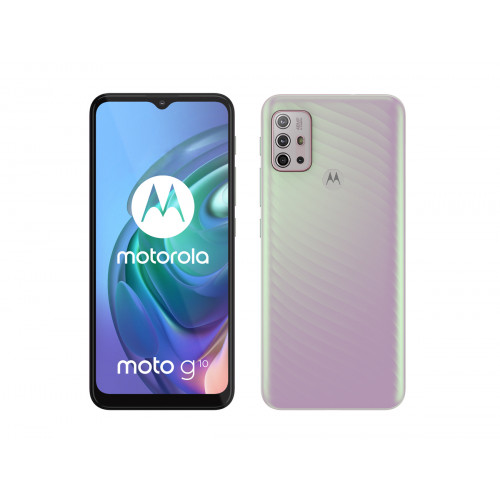 Motorola Moto G10 64GB 4GB RAM Dual Iridescent Pearl