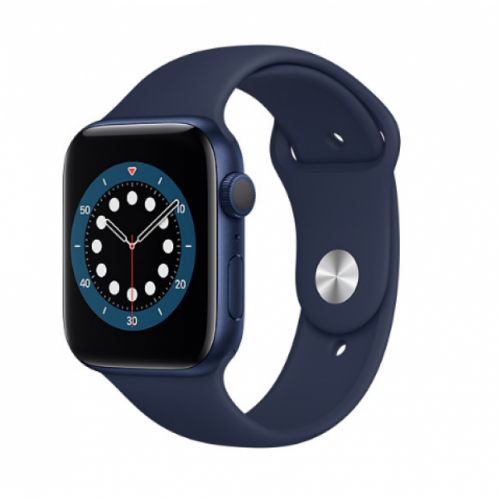 Apple Watch Series 6 GPS 40mm Blue Aluminum Case with Sport Band Deep Navy