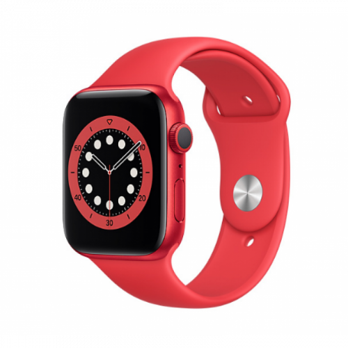 Apple Watch Series 6 GPS 40mm Red Aluminum Case with Sport Band Red