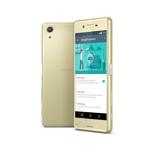 Sony Xperia X Single (F5121) Lime Gold