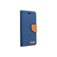 Калъф Canvas Book - Apple Iphone 12 Navy