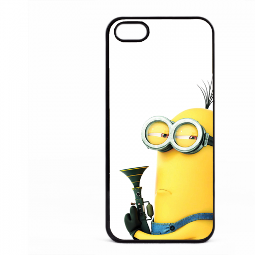 PVC гръб - 2d за Apple iPhone 5 - minion2
