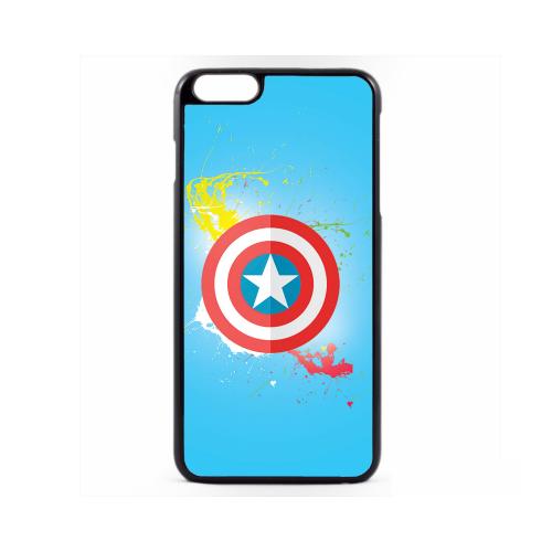 PVC гръб - 2d за Apple iPhone 6 Plus - captain america