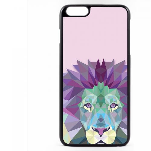 PVC гръб - 2d за Apple iPhone 6 Plus - lion