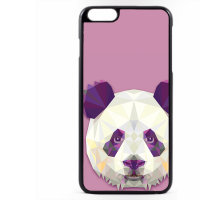 PVC гръб - 2d за Apple iPhone 6 Plus - panda