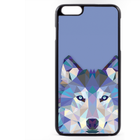 PVC гръб - 2d за Apple iPhone 6 Plus - wolf