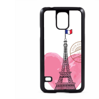 PVC гръб - 2d за Samsung Galaxy S5 G900 - paris3-sized