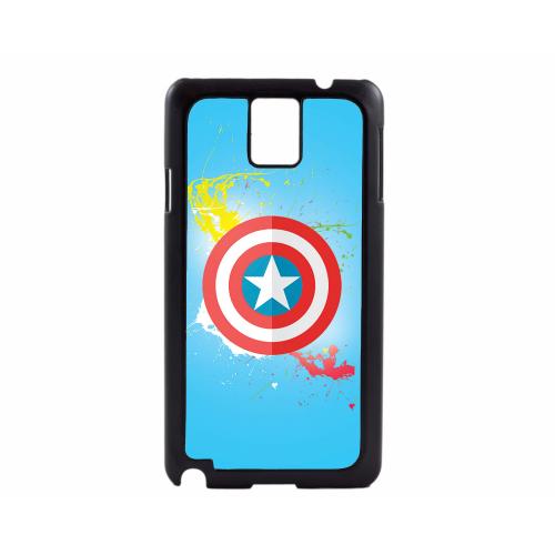PVC гръб - 2d за Samsung Galaxy Note 3 N9000 - captain america