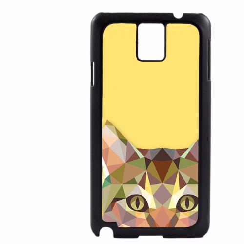 PVC гръб - 2d за Samsung Galaxy Note 3 N9000 - cat