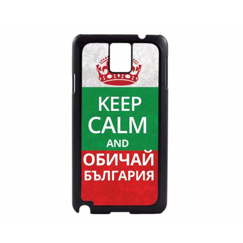 PVC гръб - 2d за Samsung Galaxy Note 3 N9000 - keep calm