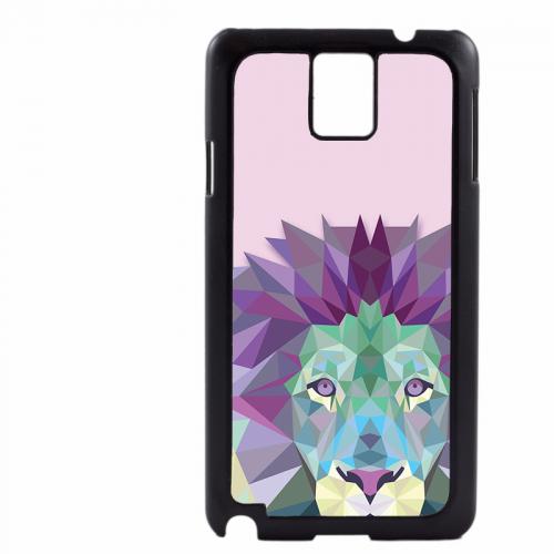 PVC гръб - 2d за Samsung Galaxy Note 3 N9000 - lion