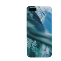 PVC гръб - 3d за Apple iPhone 5 - Water2016