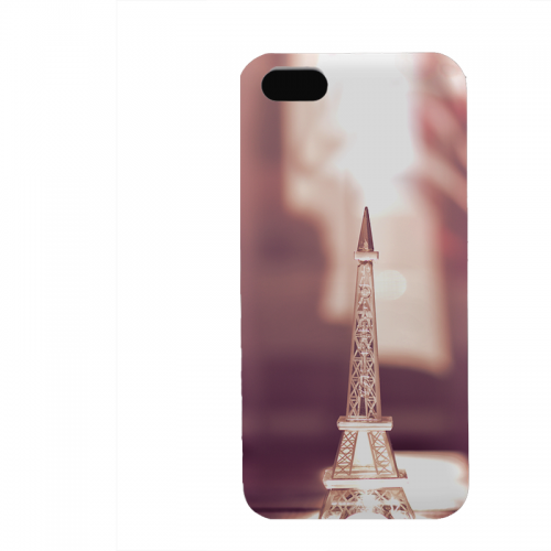 PVC гръб - 3d за Apple iPhone 5 - eiffel