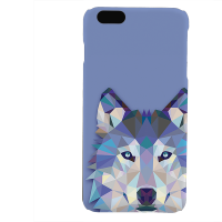 PVC гръб - 3d за Apple iPhone 6 Plus - wolf