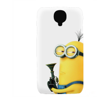 PVC гръб - 3d за Samsung Galaxy S4 I9500 - minion2