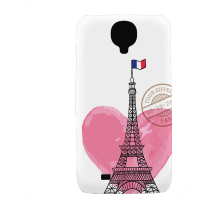 PVC гръб - 3d за Samsung Galaxy S4 mini I9195 - paris3-sized