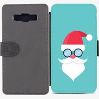 Калъф тип тефтер за Samsung Galaxy A7 - christmas2