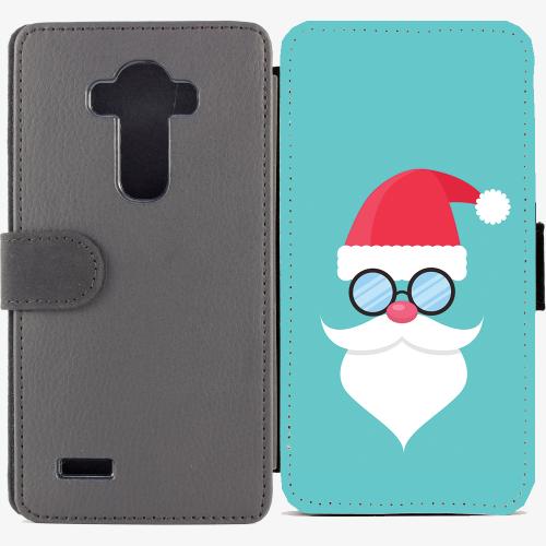 Калъф тип тефтер за LG G4 - christmas2