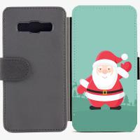Калъф тип тефтер за Samsung Galaxy A3 - christmas3