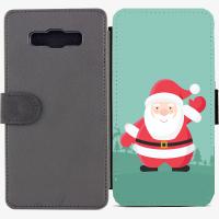 Калъф тип тефтер за Samsung Galaxy A7 - christmas3